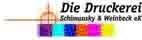 """Logo """"Die Druckerei Schimansky & Weinbeck eK"""""""