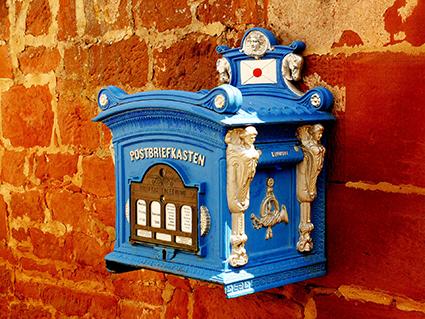 Briefkasten nostalgisch