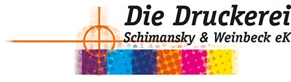 Die Druckerei Schimansky & Weinbeck Logo